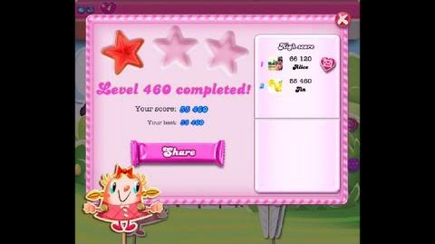 Candy Crush Saga Level 460 NO BOOSTER
