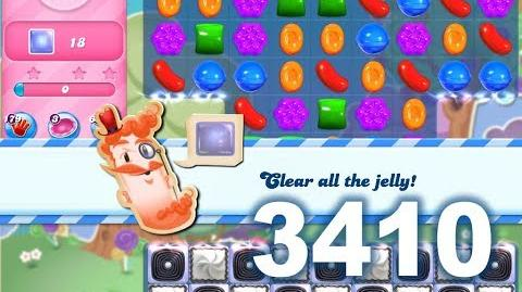 Candy Crush Saga Level 3410 (No boosters)