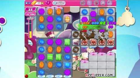 Candy Crush Saga Level 1227 - ★★