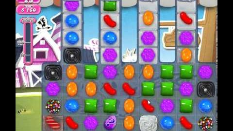 Candy Crush Saga Level 239 - 1 Star - no boosters