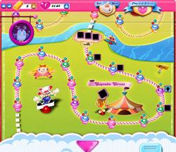 Cupcake Circus Map