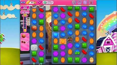 Candy Crush Saga - Level 217 - No boosters ☆☆☆