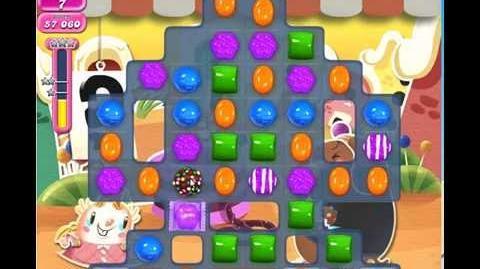 Candy Crush Saga level 688 2 stars