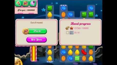 Candy Crush Saga Bug!