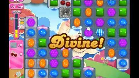 Candy Crush Saga Level 1690 ( New with Fewer Icings ) No Boosters 1 Star