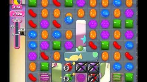 How to beat Candy Crush Saga Level 204 - 3 Stars - No Boosters - 111,820pts