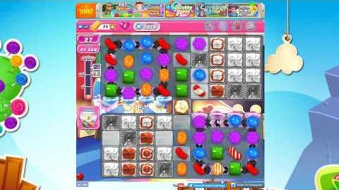 Candy Crush Saga Level 1376 Hard Level NO BOOSTER