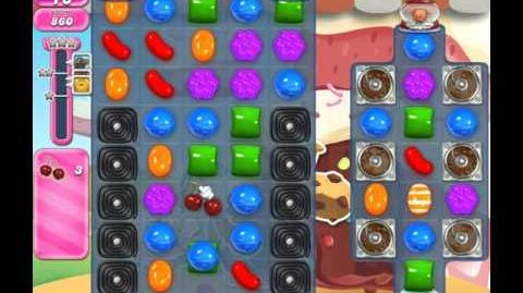 Candy Crush Saga Level 1647 ( New with 3 Cherries ) ( 3 stars ) No Boosters