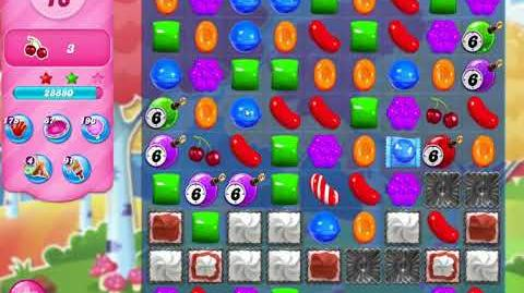 Candy Crush Saga Level 3155 NO BOOSTERS (second version)
