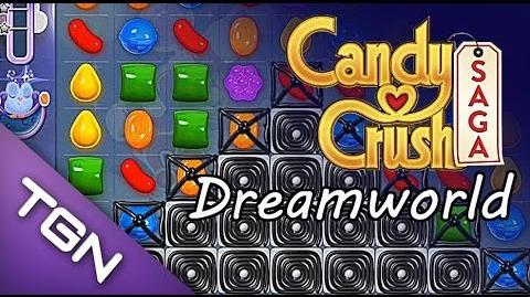 Candy Crush Saga Dreamworld - level 86