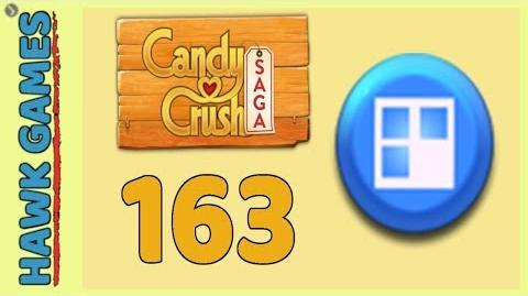 Candy Crush Saga Level 163 (Jelly level) - 3 Stars Walkthrough, No Boosters