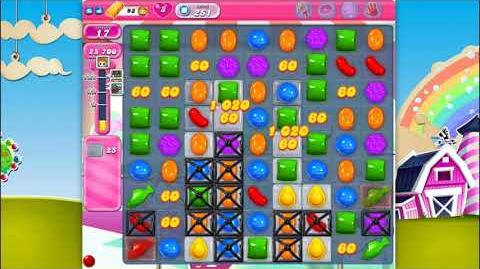 Candy Crush Saga - Level 251 - No boosters ☆☆☆ Top Score