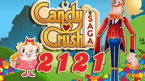 Candy Crush Saga Level 2121