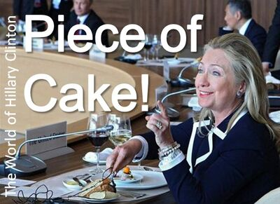 Piece of Cake - Hillary Clinton
