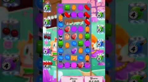 Candy Crush Level 2040 (4th version, 11 moves and 5 move bombs)