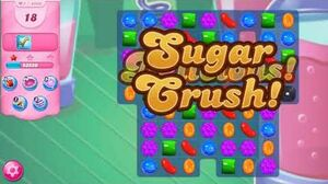 Candy Crush Saga - Level 4596 - No boosters ☆☆☆ New Element - Crystal Candy!!!
