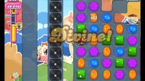 Candy Crush Saga Level 1694 NO BOOSTER (4th Version - Added Extra Time Candy Cannon + 3 Stars)