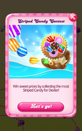 Striped Candy Contest Intro