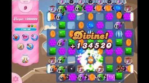 Candy Crush Saga - Level 3075 ☆☆☆