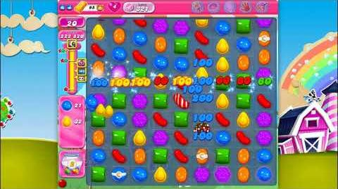 Candy Crush Saga - Level 321 - No boosters ☆☆☆ Top Score