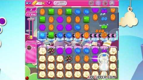 Candy Crush Saga Level 1230 - ★★