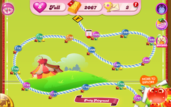 Fruity Fairground Map Mobile