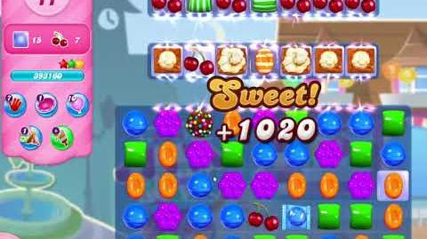 Candy Crush Saga Level 2937 NO BOOSTERS (18 moves)