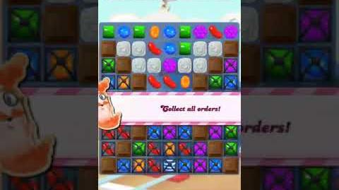Candy Crush Level 452 (28 moves, 20 striped)