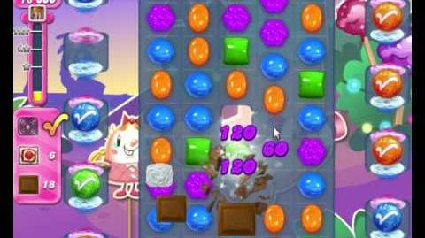 Candy Crush Saga LEVEL 2123 NO BOOSTERS(no color bombs,no horizontal stripes)