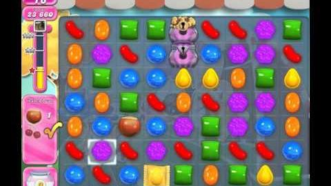 Candy Crush Saga Level 1442 (No booster, 3 Stars)