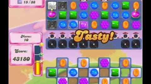 Candy Crush Saga Level 2546 (17 moves & cannons)