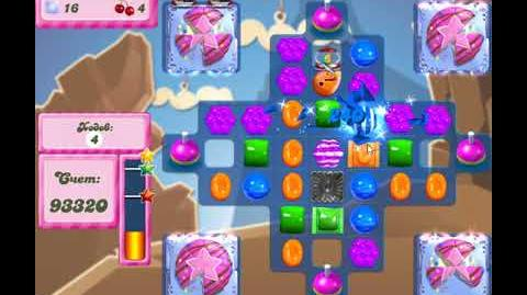 Candy Crush Saga Level 2627 New,17 Moves