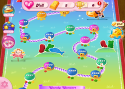 Candy Concert HTML5 Map