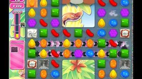 Candy Crush Saga, Level 628, 1 Star, No Boosters
