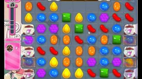 Candy Crush Saga Level 349 Basic strategy No Boosters