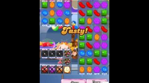 Candy Crush Level 1154 11 yellow candies order