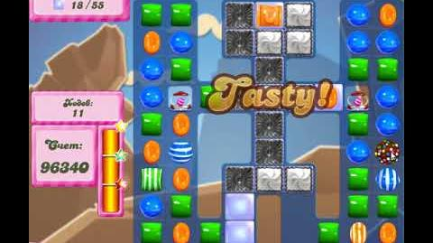 Candy Crush Saga Level 2623 New 22 Moves