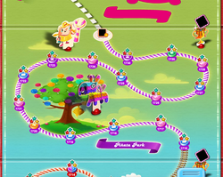 Piñata Park Map