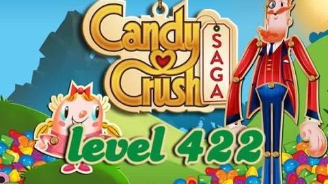 Candy Crush Saga Level 422 - ★★★ - 107,660