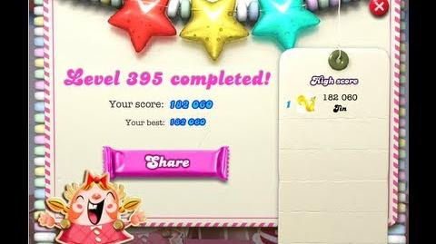 Candy Crush Saga Level 395 ★★★ NO BOOSTER