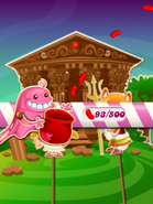 Bubblegum Troll Collecting Candies Level Completed