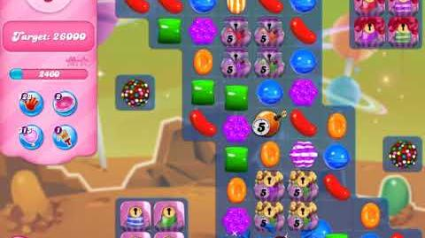 Candy Crush Level 2634 (no boosters, 3 stars)