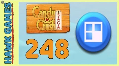 Candy Crush Saga Level 248 (Jelly level) - 3 Stars Walkthrough, No Boosters
