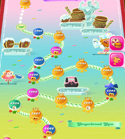 Gingerbread Gym HTML5 Map