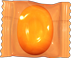 Wrapped orange