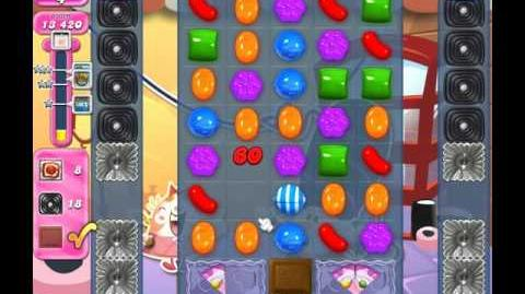 Candy Crush Saga Level 1846 ( New with 25 Moves ) No Boosters 1 Star