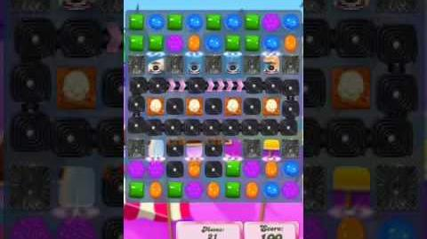 Candy Crush Level 2017 (2nd version, 22 moves)