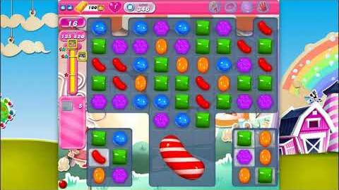Candy Crush Saga - Level 346 - No boosters ☆☆☆