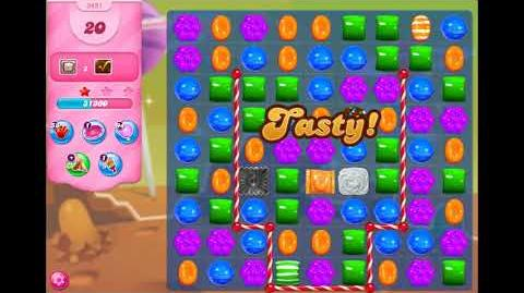 Candy Crush Saga - Level 3491 ☆☆☆