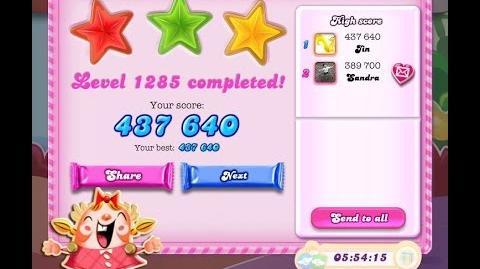 Candy Crush Saga Level 1285 ★★★ NO BOOSTER